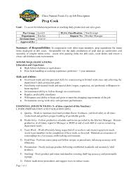 cover letter for cook chef duties resume cv cover letter