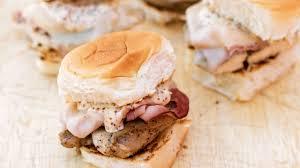 bleu orleans cuisine grilled chicken cordon bleu sliders tailgater magazine