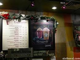 Starbucks Christmas Decorations Starbucks Peppermint Mocha Frappuccino Light Blended Coffee