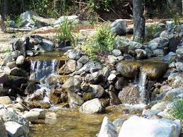 backyard waterfall pictures urellas irrigation u0026 landscaping llc