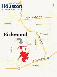 Map Houston Airport Richmond Tx Real Estate Guide Richmond Homes For Sale