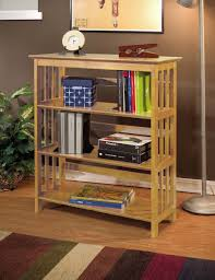 furniture wood book cases with mission style bookcase