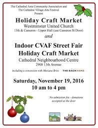 cathedral area community association holiday craft market u2013 nov 19