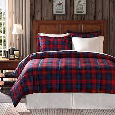 flannel bedding white bed