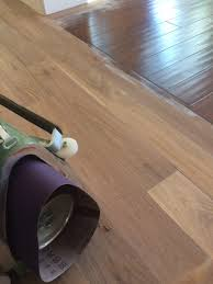refinishing engineered floors with aluminum oxide finish part 1