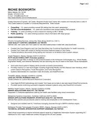 j2ee analyst resume resume template business analyst word academic