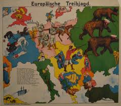 Europe Map Ww1 The Octopuses Of War Ww1 Propaganda Maps In Pictures