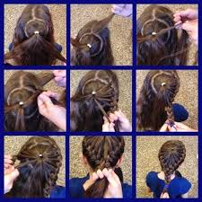 cute girl hairstyles how to french braid cute girls hairstyles bow braid