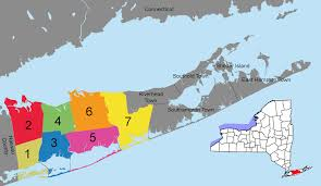 suffolk county map file suffolk county district precincts w nys png