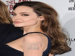 10 angelina jolie and brad pitt tattoos