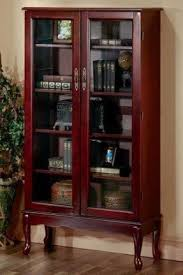 Wide Bookcase With Doors Shaker Style Bookcases Bookcase Low Wide Solid Pine For With Doors