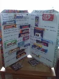 uk chocolate bar card really good cheap diy present gifting