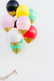 diy confetti dipped balloons confetti dip confetti and dips
