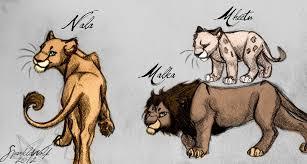 random lion sketches by sparklewolf7000 on deviantart