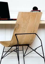 bureau bois design contemporain bureau contemporain bois fascinant chaise de bureau bois 537335