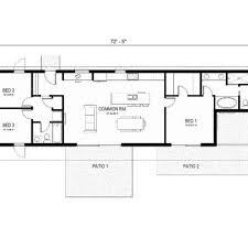 18 2 Bedroom Rectangular House Plans Tiny House Single Floor Rectangular House Plans 3 Bedroom 2 Bath