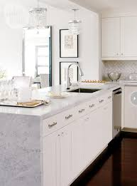 countertop edge to waterfall or not to waterfall centsational style