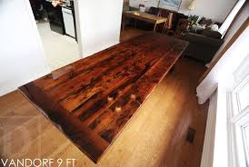 modern reclaimed wood table airport road ontario high gloss hd