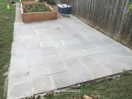 What Is Paver Base Material Made Of by How To Install A Paver Patio The Foundation Of My Raised Garden