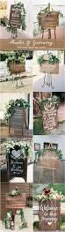 20 greenry rustic wooden welcome wedding signs deer pearl flowers