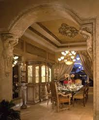 Tuscan Dining Room Ideas by Dallas Fort Worth Texas Homebuilder Signature Interiors