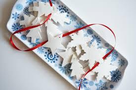 baking soda ornaments and gift tags