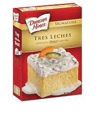 signature tres leches cake mix duncan hines