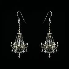 Chandelier Earrings Unique Chandelier Earrings Ornate Chandelier Earrings Unique Wedding Jewellery Metal Couture