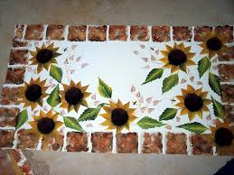 Country Sunflower Canister Set Kitchen Themes 2017 Sunflower