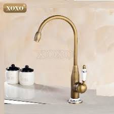 new style antique brass finish faucet kitchen sink basin faucets