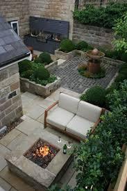 outdoor courtyard garden design outdoor kitchen and fire pit urban courtyard for