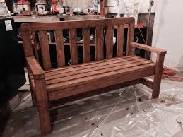 Wooden Patio Bench by Bench 20 Garden And Outdoor Bench Plans You Will Love To Build