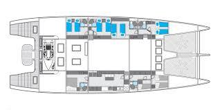 ipharra layout sunreef yachts sail yacht superyachts com