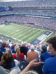 metlife stadium section 307 home of new york jets new york giants