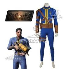 Fallout Halloween Costume Quality Fallout 4 Sole Survivor Vault 111 Cosplay Costume