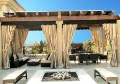 Outdoor Bamboo Curtains Amazing Outdoor Patio Curtain Ideas Water Resistant Outdoor Bamboo
