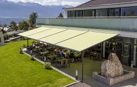How To Cover A Pergola From Rain by Shades Of Perfection Markilux Pergola 110 Motorized Retractable