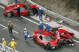 crashed lamborghini how that 3 8 million supercar crash happened wired