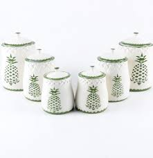 neuwirth portuguese ceramic kitchen canisters ebth