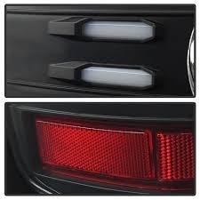 chevy silverado led tail lights spyder 5083722 chevy silverado light bar led tail lights black