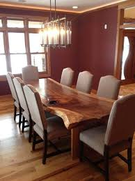 dining room table rustic dining room tables rustic masterly photo of bacfbedadafc wood slab