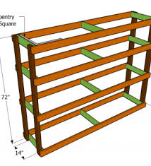 Woodworking Shelf Plans by Storage Shelf For The Basement Making Wood Shelves For Garage