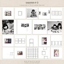 photo album 12x12 snapshots no 3 by paislee press