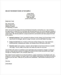 internship cover letter sample internship cover letter resume