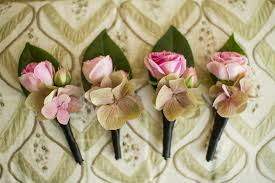 Groomsmen Boutonnieres Elegant California Wedding With Sophisticated Décor Inside Weddings