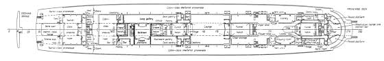 Deck Floor Plan by Dirty 30s Rms Queen Mary