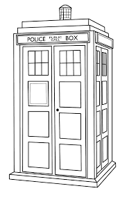tardis coloring pages 13578