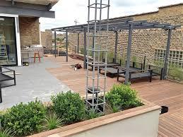 roof deck pergola u0026 planters west loop chicago urban