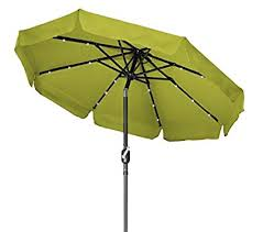 Lighted Patio Umbrella Solar Deluxe Solar Powered Led Lighted Patio Umbrella 7