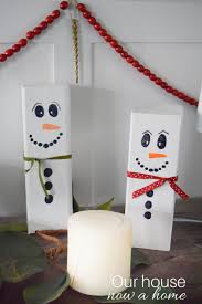 wooden snowman wooden snowman craft easy christmas decoration idea our easy